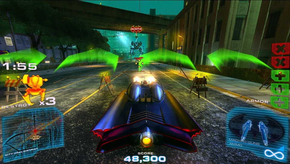Batman Arcade Driving Game M Amp P Amusement