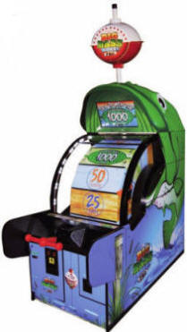Big Bass Wheel Pro Ticket Arcade Game