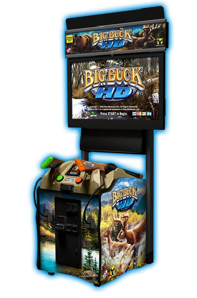 "Big Buck Hunter HD 42"" Shooting Game"