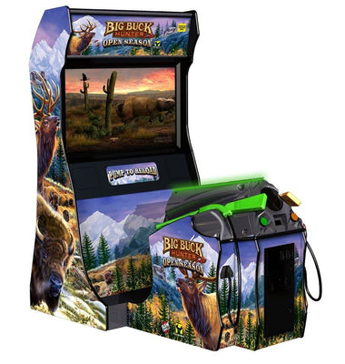 Big Buck Hunter Open Season Arcade Shooting Game