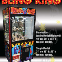 "Bling King 40"" Arcade Crane Game"