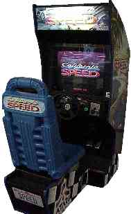 California Speed Arcade Driving Game