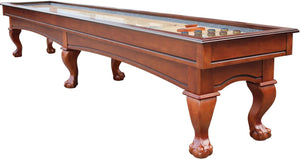 Charles River Chestnut Shuffleboard Table 12', 14', 16'