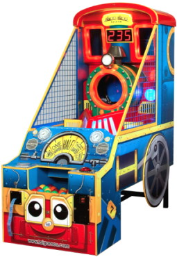 Choo Choo Train Ticket Arcade Game