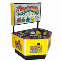Colorama 4 Player Ticket Arcade Game