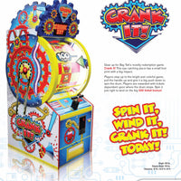Crank It! Ticket Arcade Game