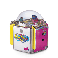 Cyclone 3 Player Ticket Arcade Game