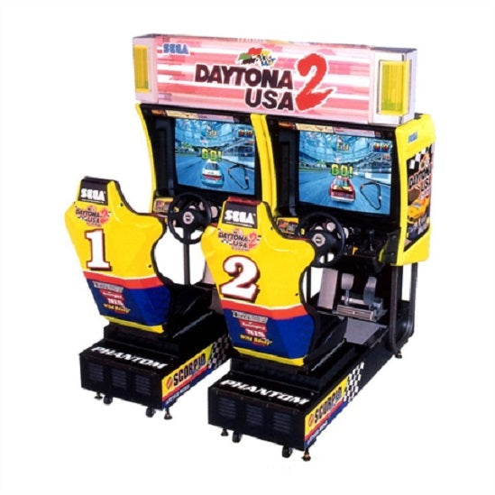 Daytona USA 2 Twin Arcade Driving Game