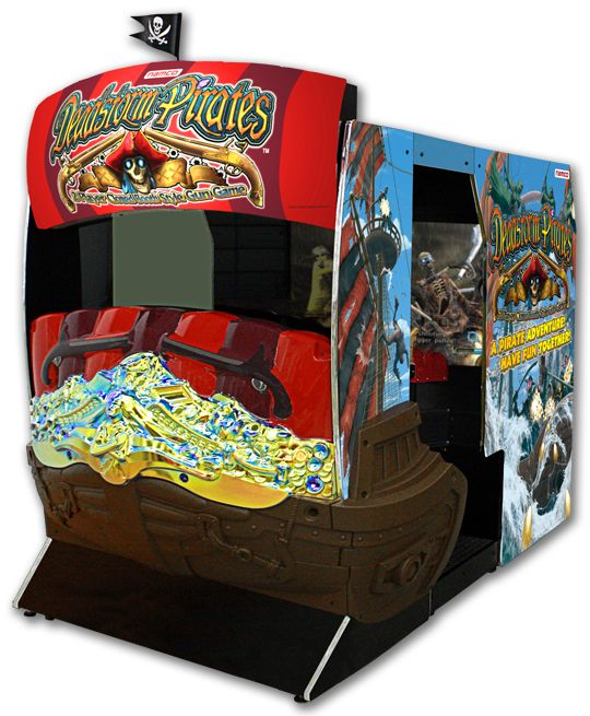 Dead Storm Pirates Deluxe Arcade Shooting Game