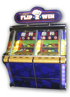 Flip 2 Win Coin Pusher Game