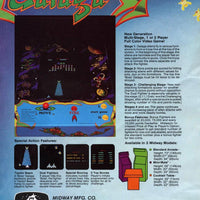Galaga Cocktail Arcade Video Game