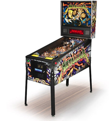 Metallica LED Pro Pinball Machine