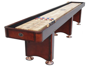 Georgetown Cherry Shuffleboard Table 12', 14', 16'