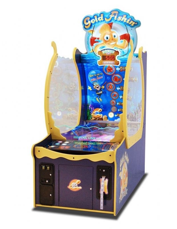 Gold Fishin Arcade Ticket Game