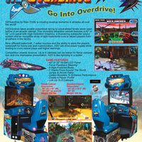 "H2O Overdrive 32"" Arcade Boat Racing Game"
