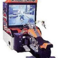 Harley Davidson LA Riders Deluxe Arcade Driving Game