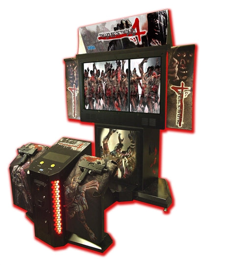 House Of The Dead 4 Deluxe Arcade Shooting Game M P Amusement