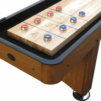 Woodbridge Honey Oak Shuffleboard Table 9', 12', 14, 16'