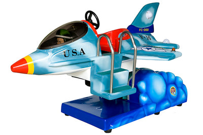 F-16 Jet Fighter Kiddie Ride