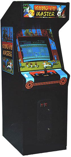 Kung Fu Master Arcade Video Game