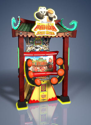 Kung Fu Panda Arcade Ticket Game