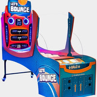 Lets Bounce Arcade Redemption Ticket Game