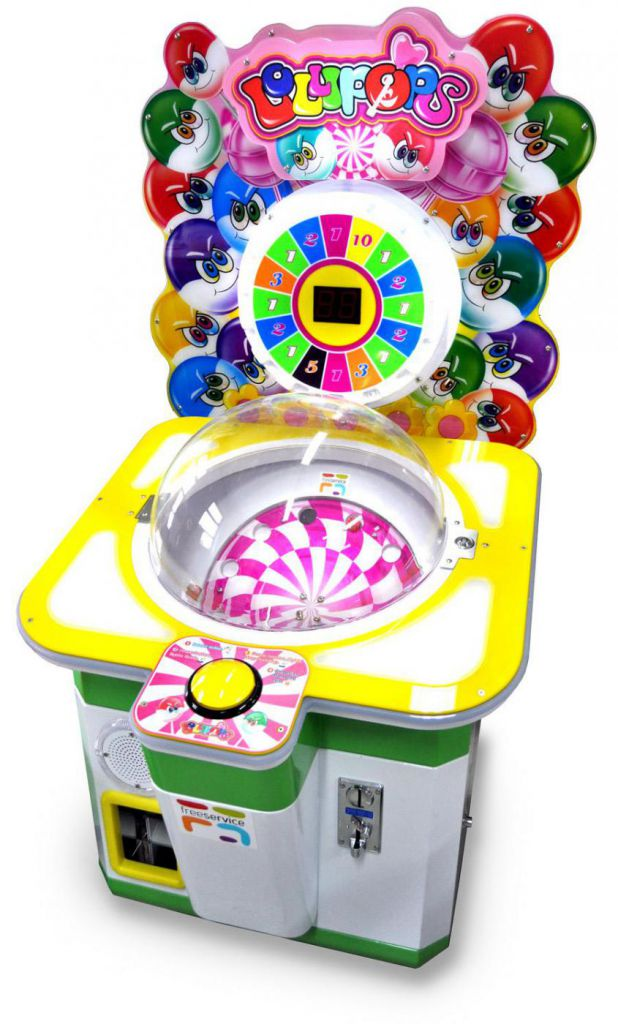 Lollipops Prize Arcade Game