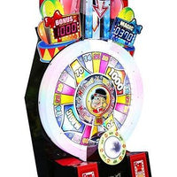 Magician's Wheel Ticket Arcade Game