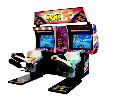 Manx TT Superbike Twin Arcade Motorcycle Game