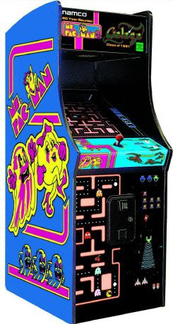Ms. Pac-Man / Galaga / Pacman 20th Anniversary