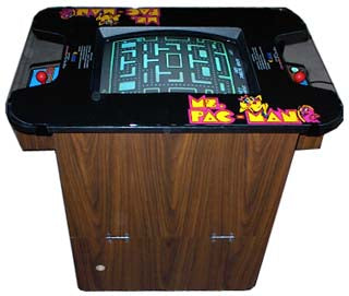 Ms. Pac-Man Cocktail Arcade Video Game