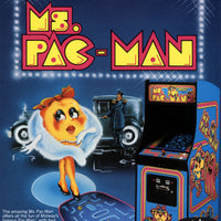 Ms. Pac-Man Video Arcade Game