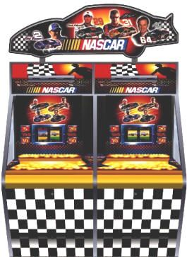 NASCAR 2 Player Coin Pusher