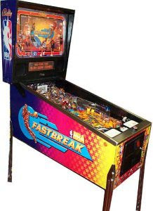 NBA FastBreak Pinball Machine
