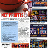 NBA Jam Arcade Video Game