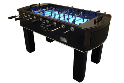 The Neon Foosball Table
