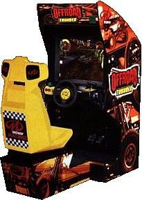 Off Road Thunder Arcade Driving Game