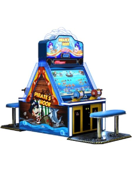 Pirate's Hook 4 Player Ticket Arcade Game