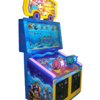 Pirate's Hook Ticket Arcade Game