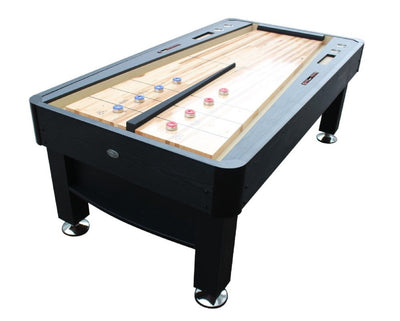 The Rebound Shuffleboard Table in Cherry or Black