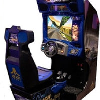 Rush 2049 Arcade Driving Game