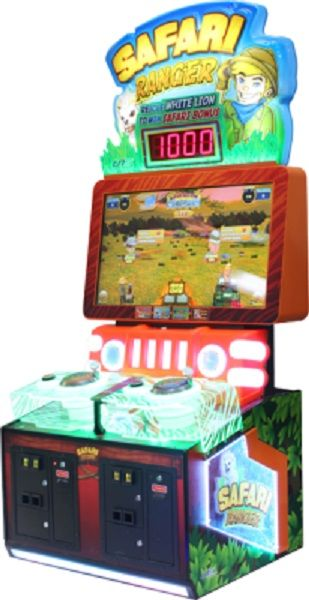 Safari Ranger Video Ticket Arcade Game