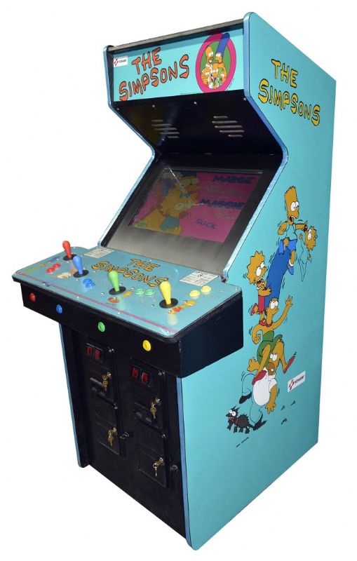 The Simpsons Arcade Video Game