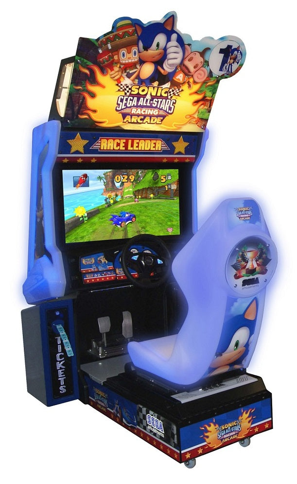 Sonic All Star Racing Driving Game