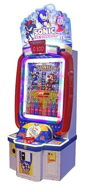 Sonic Blast Ball Ticket Arcade Game