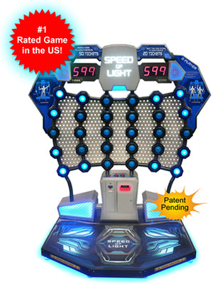 Speed Of Light Ticket Arcade Game