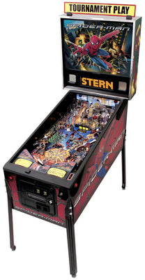 Spider-Man Pinball Machine