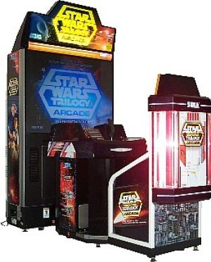 Star Wars Trilogy Deluxe Arcade Video Game