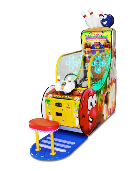 Strike Zone Ticket Arcade Game