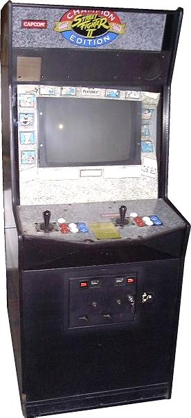 Street Fighter 2 Arcade Fighting Game